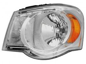 New 2007 2008 2009 left driver headlight head light bulbs fit for Chrysler Aspen