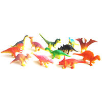 12x Dinosaur Toy Plastic Play Dinosaur Model Action Figures Best Gift for Boy DD