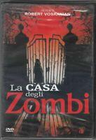 LA CASA DEGLI ZOMBI. DVD Film NUOVO ITALIANO PAL Abbinamento editoriale