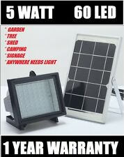 Bizlander® 5W 60LED 874Lumen Solar Flood Light for Farm Home Garden Sign Board