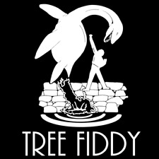 Tree Fiddy Nessie Decal Funny Humor Vinyl Die Cut Three Fifty Fitty 3.50 Free