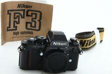 Nikon F3HP 35mm Body Only Film Camera - Black tested  390464