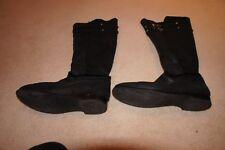 Jimmy Choo Shearling black knee high boots sz 40/UK 7