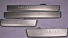 NEW OEM INFINITI QX80 RADIANT ILLUMINATED DOOR SILL KICK PLATES 999G6-36000 201