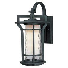 Maxim Lighting Oakville 1-Light Outdoor Wall Lantern in Black Oxide - 30485Wgbo