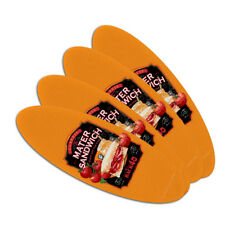Back 40 Classic Tomato Mater Sandwich Oval Nail File Emery Board 4 Pack
