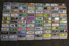 WHOLESALE LOT of 80 Nintendo Super Famicom Games SFC SNES Japan Import LOT #16