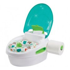 SUMMER INFANT STEP BY STEP 3 IN 1 POTTY WITH TOILET ROLL HOLDER - NEW