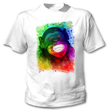 MONKEY 4 - NEW COTTON WHITE TSHIRT