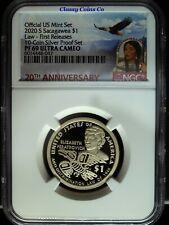 2020 S NGC Proof 69 UCAM Native American Elizabeth Peratrovich ☆☆ 20th Anniv.