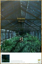 FOXING Dealer Ltd Ed New RARE Tour Poster Display +FREE Indie Punk Rock Poster!