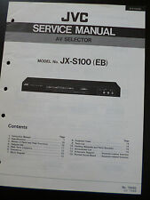 Original Service Manual  JVC JX-S100