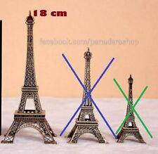 18cm Paris Eiffel Tower Table Display Figure Centerpiece Cake Topper