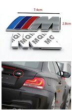 /// M Tricolore Sticker en 3D BMW capot voiture arrière embleme tuning