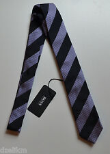 NWT Hugo Boss Black Label By Hugo Boss Silk Tie 'Tie 6 cm'