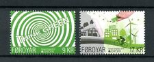 Faroe Islands Faroes 2016 Mnh Europa Think Green 2v Set Bicycles Stamps