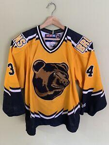 Boston Bruins CCM Hockey Jersey Ricchiazzi Small Nhl