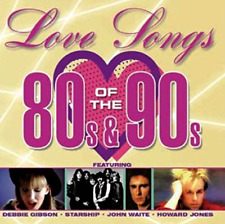 LOVE SONGS OF THE 80`S & 90...-LOVE SONGS OF THE 80`S & 90`S / VARIOUS  CD NEW