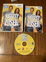 Biggest Loser Nintendo Wii Game Video Game 2009 Fitness Workout  ~ Free Shipping