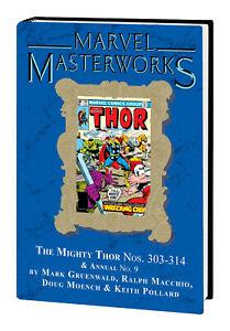 Marvel Masterworks #304 MIGHTY THOR Volume #20 DM Hard Cvr 2021 Global Shipping