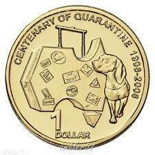 **2008 Australian Centenary of Quarantine $1 coin UNC**