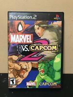 Marvel vs Capcom 2 PS2 *PlayStation 2* Complete w/ Manual