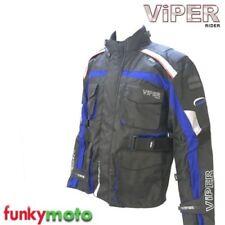 Blousons imperméables bleus pour motocyclette Homme
