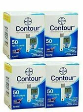 200 Bayer Contour Test Strips 4 Box of 50 02/28/2021 fast ship