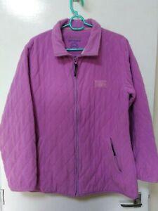 Ladies Chatham Soft Fleece dusky Pink Zip Up Fleece Size 16
