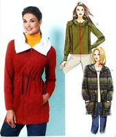 Misses 6-14 Jacket Loose Fitting Unlined Collar or Hood Butterick Pattern B5820