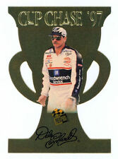 Dale Earnhardt Sr 1997 Press Pass Cup Chase Gold Die Cut Insert Card Redemption