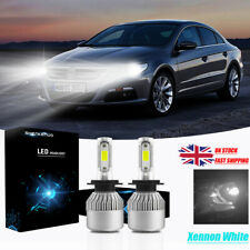 VW Passat A32 H7 H7 501 55w ICE Blue Xenon HID High//Low//Side Headlight Bulbs Set
