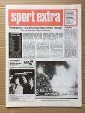 More details for stuttgart v napoli uefa cup final 1989 sport extra edition
