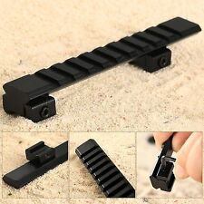 125mm Long 10 Slots 11mm Picatinny Weaver Rail Mount for Rifle Scope Hunting New