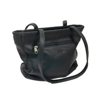 EUC Espirit Faux Leather Black Shoulder Bag 11x10x4 inches