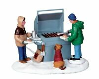 Lemax Grillin Chillin 04234  New Christmas Village Valley Winterdorf Model 2010