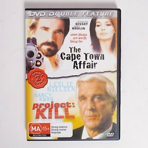 The Cape Town Affair + Project Kill 2 x Movie Double Feature DVD Region 4 AUS