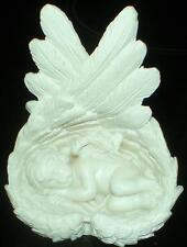 Latex Craft Mould For Cherub in Wings Ornament Reusable Art & Crafts Hobby
