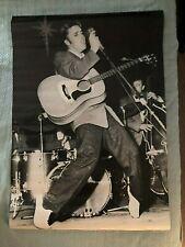 1986 Scandecor (Germany) 29x39 Elvis Presley Poster - VG+, E.Presley Enterprises