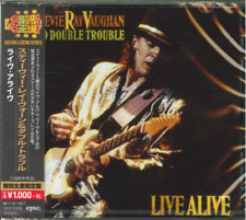 STEVIE RAY VAUGHAN AND DOUBLE TROUBLE-LIVE-JAPAN CD Ltd/Ed B63