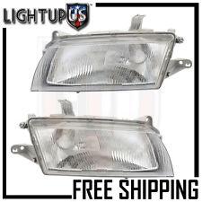 Headlight Headlamp Pair Left right set for 97-98 Mazda Protege