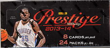 2013-14 13-14 PANINI PRESTIGE BASKETBALL HOBBY SEALED BOX: 4 AUTOS/HITS PER BOX