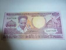 billet de 100 gulden de van suriname de 01-07-1986 état neuf voir photo