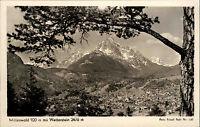 MITTENWALD Foto-AK F. Pehl Bayern Berge Alpen 50/60er Ansichtskarte ungelaufen
