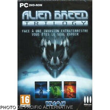 NEUF Jeu ALIEN BREED TRILOGY pour PC game francais invasion extraterreste 1 2 3