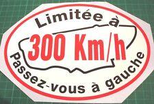 LEMANS LE MANS CLASSIC 300KM/H DECAL STICKER