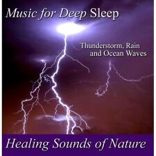 NEW Healing Sounds of Nature - Thunderstorm, Rain and Ocean Waves (Audio CD)