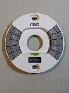 Nest 2nd Generation Wire Base Learning Thermostat Wiring Mount Terminal