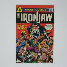 IRON JAW # 4. KEY BRONZE AGE 1975 ATLAS COMICS (ORIGIN ISSUE)