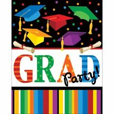 "Graduation Fest Invitations 8 ct ""Grad Party"""